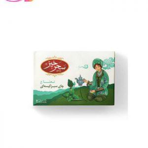 چای سبز کیسه ای با طعم نعنا   سفیر کالا