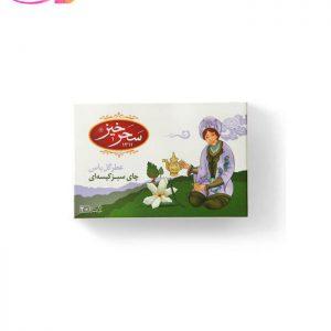 چای سبز کیسه ای جاسمین(عطرگل یاس)   سفیر کالا