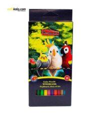 مداد رنگی 12 رنگ کیبورد مدل 200469