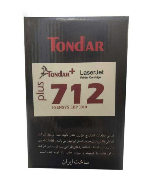 تونر مشکی تندر کانن مدل ۷۱۲ Plus | سفیرکالا