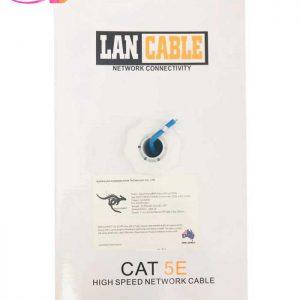 کابل شبکه Cat 5E UTP دیتا کانکت استرالیا کد ۸۰۶۱ طول ۳۰۵ متر | سفیرکالا