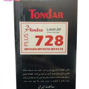 تونر مشکی تندر مدل ۷۲۸ Plus | سفیرکالا