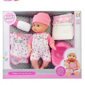 عروسک نوزاد یوکوکا مدل BABY UKOKA 8019 | سفیرکالا