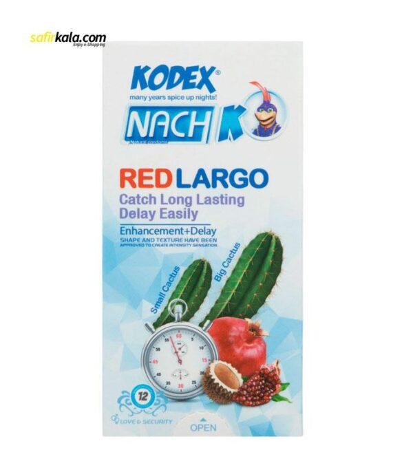 کاندوم کدکس مدل Red Cactus بسته 12 عددی   سفیرکالا