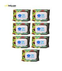 دستمال مرطوب پاک کننده آرایش دافی مدل Q10 moisturizer بسته 50 عددی مجموعه 7 عددی | سفیرکالا