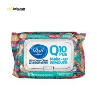 دستمال مرطوب دافی مدل Q10 بسته 50 عددی | سفیرکالا