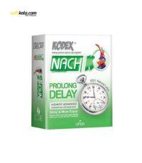 کاندوم ناچ کدکس مدل Prolong DELAY بسته 3 عددی | سفیرکالا