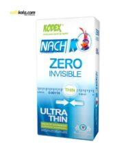 کاندوم کدکس مدل Zero Invisible بسته 12 عددی | سفیرکالا