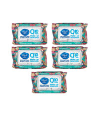 دستمال مرطوب دافی مدل Q10 مجموعه 5 عددی| سفیرکالا