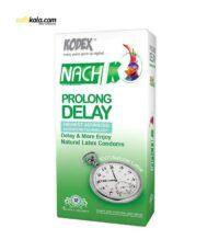 کاندوم کدکس مدل Prolong Delay بسته 12 عددی | سفیرکالا
