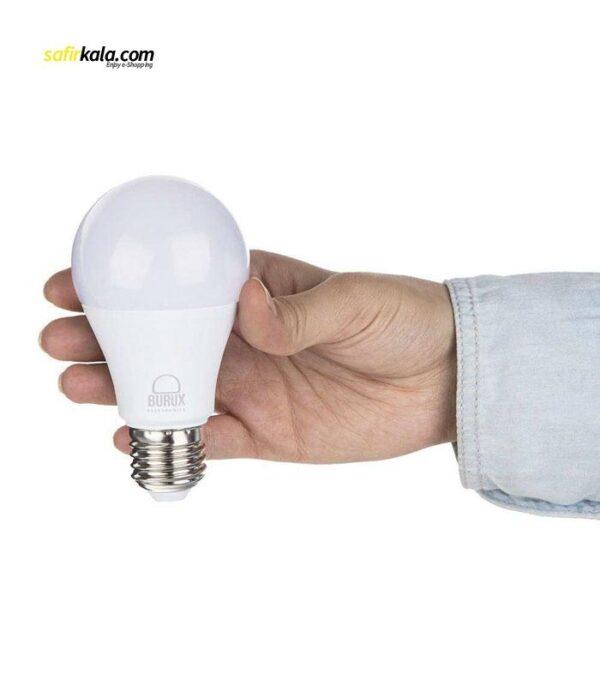 لامپ ال ای دی 10 وات بروکس مدل 5322-A60 پایه E27 بسته 10 عددی | سفیرکالا