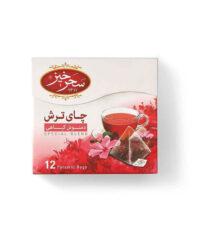 دمنوش چای ترش سحرخیز بسته 12 عددی   سفیرکالا