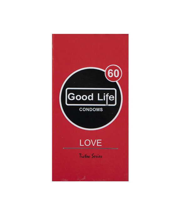کاندوم گودلایف مدل Love بسته 12 عددی | سفیرکالا