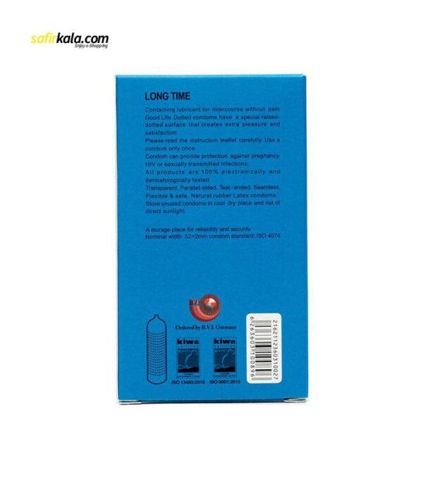 کاندوم گودلایف سری ایموجی مدل Long Time بسته 6 عددی | سفیرکالا