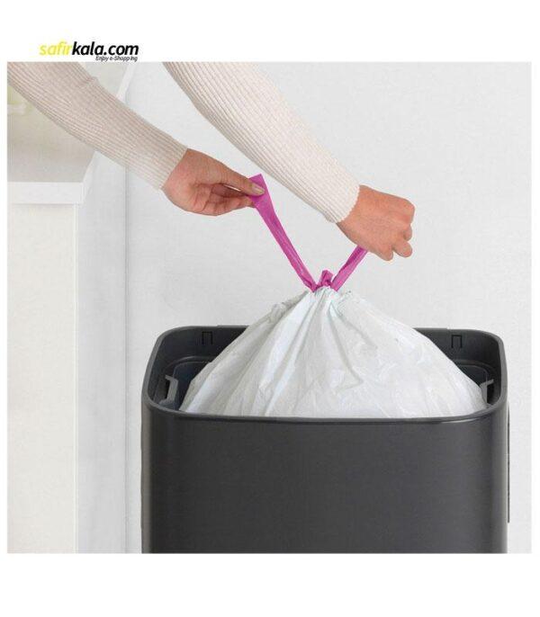 کیسه زباله کوآلا طرح بند دار کد M2 بسته 20 عددی | سفيرکالا