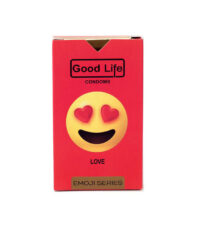 کاندوم گودلایف سری ایموجی مدل Love بسته 6 عددی | سفیرکالا