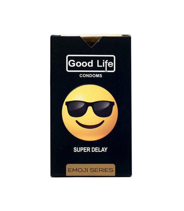 کاندوم گودلایف سری ایموجی مدل Super Delay بسته 6 عددی | سفیرکالا