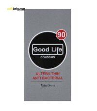کاندوم گودلایف مدل Ultra Thin Anti Bacterial بسته 12 عددی | سفیرکالا