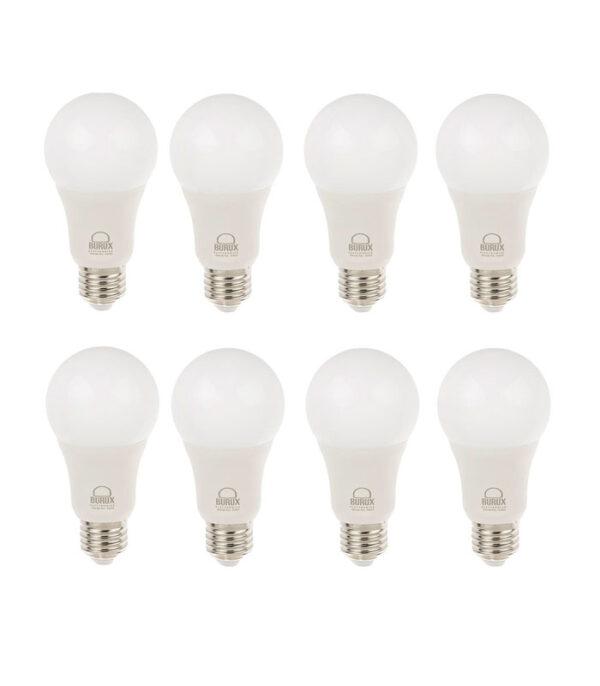 لامپ ال ای دی 10 وات بروکس پایه E27 بسته 8 عددی | سفیرکالا