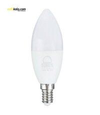 لامپ ال ای دی 7 وات بروکس مدل C37-1740 پایه E14 | سفیرکالا