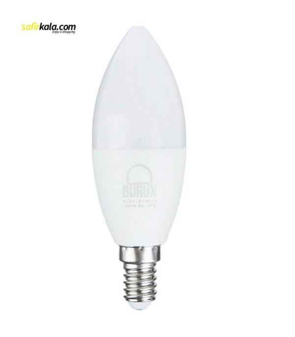 لامپ ال ای دی 7 وات بروکس مدل C37-1740 پایه E14   سفیرکالا