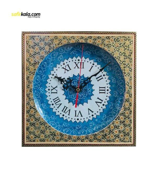 ساعت دیواری میناکاری اثر استاد پورصنعتی کد 2 | سفیرکالا