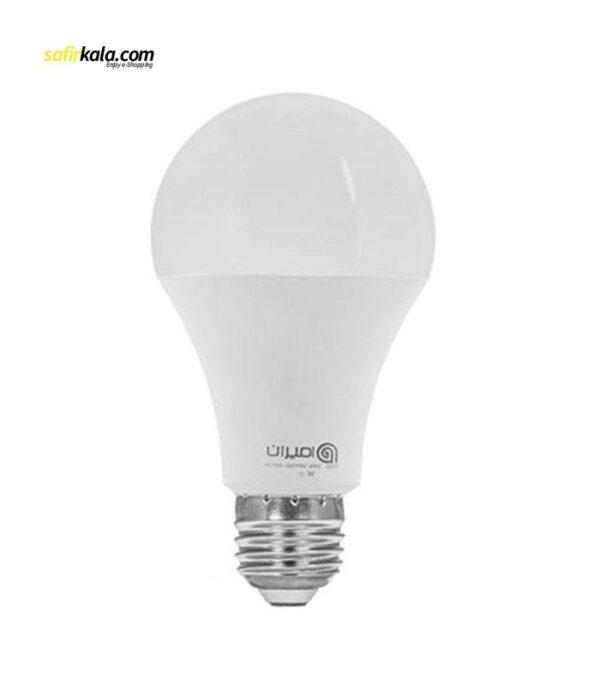 لامپ ال ای دی 9 وات امیران کد 609 پایه E27 | سفیرکالا