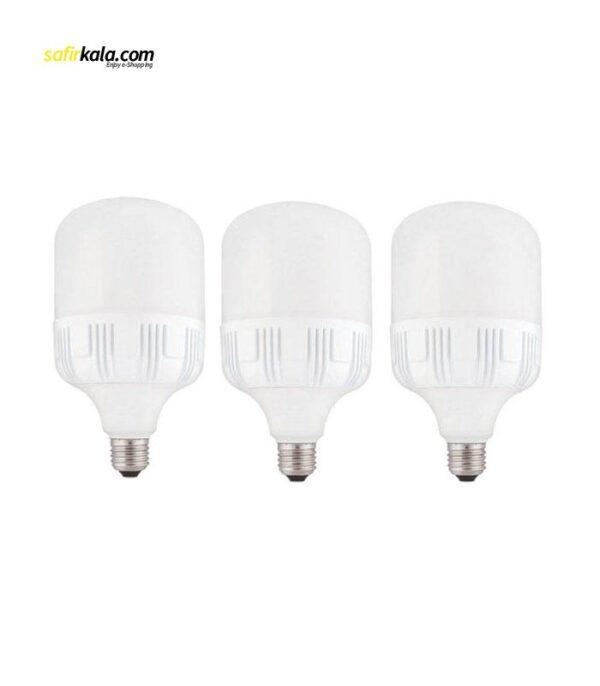 لامپ 40وات امیران مدل 040 پایه e27 بسته 3 عددی   سفیرکالا
