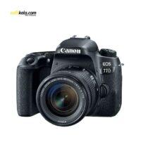 دوربین دیجیتال کانن مدل EOS 77D به همراه لنز 18-55 میلی متر STM | سفیرکالا