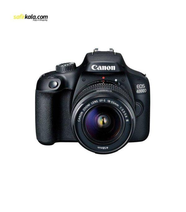 دوربین دیجیتال کانن مدل EOS 4000D به همراه لنز 18-55 میلی متر IS II | سفیرکالا