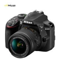 دوربین دیجیتال نیکون مدل D3400 به همراه لنز 18-55 میلی متر VR | سفیرکالا