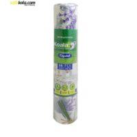 سفره یکبار مصرف کوالا مدل lavender رول 25 متری   سفیرکالا