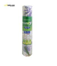 سفره یکبار مصرف کوالا مدل lavender رول 25 متری | سفیرکالا