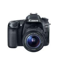 دوربین دیجیتال کانن مدل Eos 80D به همراه لنز EF-S 18-55mm f/3.5-5.6 IS STM | سفیرکالا