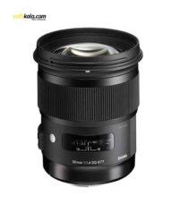 لنز سیگما مدل 50mm f/1.4 DG HSM Art for Nikon Cameras Lens | سفیرکالا