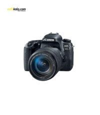 دوربین دیجیتال کانن مدل EOS 77D به همراه لنز 18-135 میلی متر IS USM | سفیرکالا