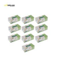 دستمال کاغذی 150 برگ اکتیو مدل A3M9007 بسته 10 عددی | سفیرکالا