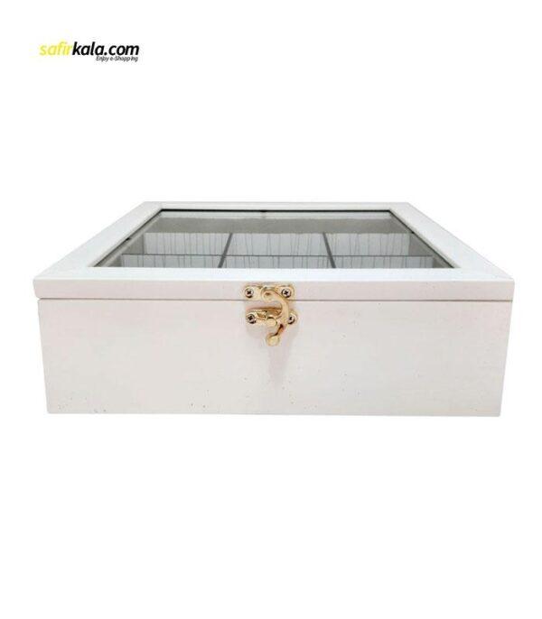جعبه چای کیسه ای مدل 34197   سفیرکالا