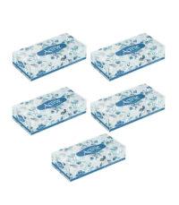 دستمال کاغذی 100 برگ اکتیو مدل eslimi بسته 5 عددی | سفیرکالا