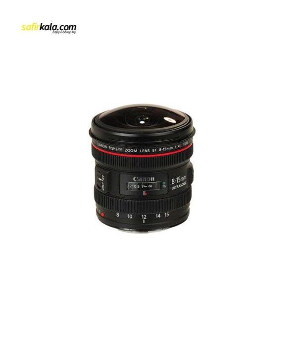 لنز کانن مدل EF 8-15mm f/4L USM Fisheye | سفیرکالا