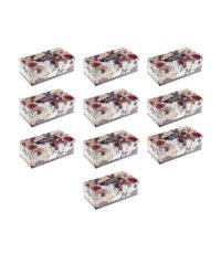 دستمال کاغذی 150 برگ اکتیو مدل Yas Flower بسته 10 عددی | سفیرکالا