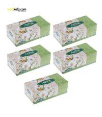 دستمال کاغذی 150 برگ اکتیو مدل A3M9007 بسته 5 عددی | سفیرکالا