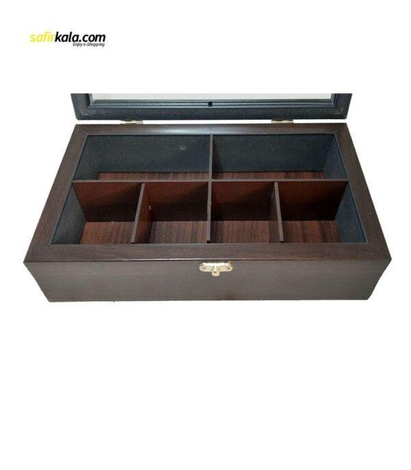 جعبه چای کیسه ای مدل 34200   سفیرکالا