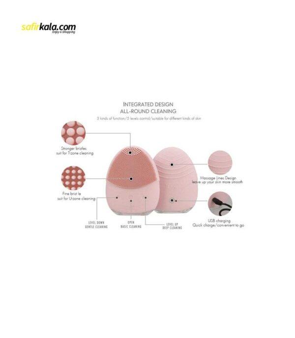 برس پاکسازی پوست تی تی لایف مدل T1 | سفیرکالا