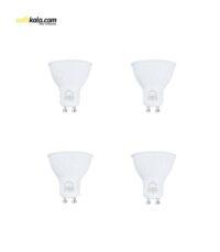 لامپ ال ای دی 7 وات بروکس مدل 3062 پایه GU10 بسته 4 عددی | سفیرکالا