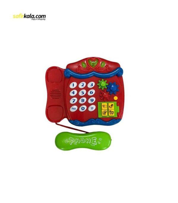اسباب بازی آموزشی تویز لند مدل تلفن | سفیرکالا