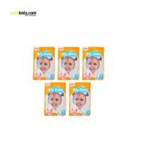پوشک کودک مای بیبی مدل خانواده شاد بسته 8 عددی مجموعه 5 عددی | سفیرکالا