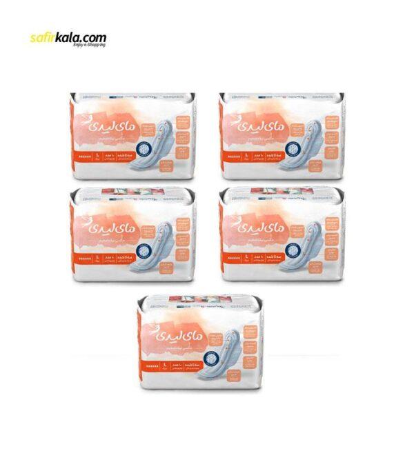 نوار بهداشتی مای لیدی مدل Maxi Sports مجموعه 5 عددی | سفیرکالا