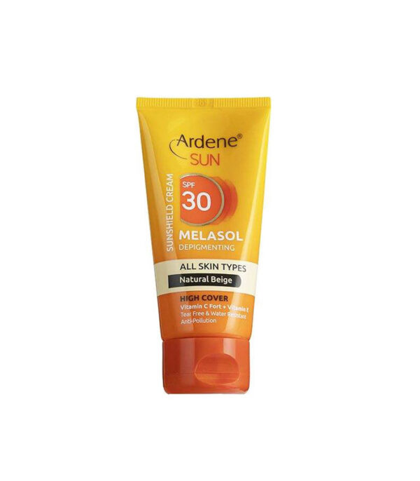 کرم ضد آفتاب آردن مدل Natural مقدار 50 گرم   سفیرکالا