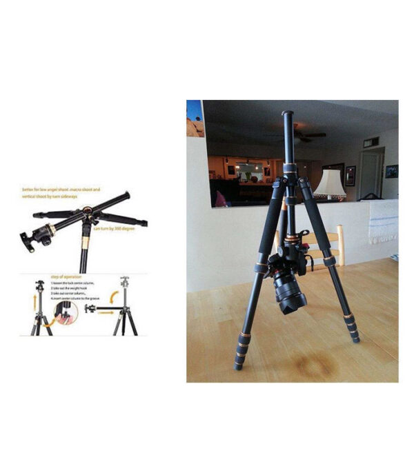 سه پایه دوربین سام نایس فوتو مدل BK-999H | سفیرکالا